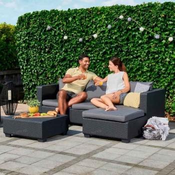 Salta Table With Cushion (графит)