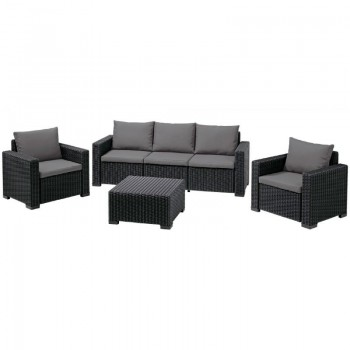 California 3 Seater Set (графит)