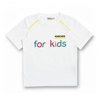 Kärcher Белая детская футболка