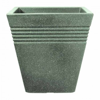 Piazza Square Planter 40 cm (мраморный зеленый) SAP 239110