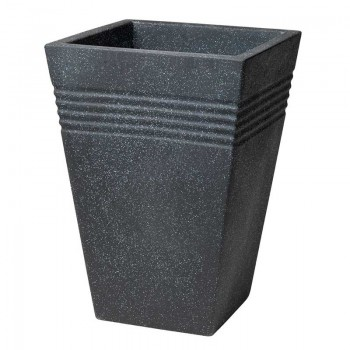 Piazza Square Tall Planter 35 cm (гранит) SAP 239113