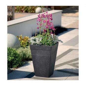 Piazza Square Tall Planter 35 cm (гранит) SAP 239113