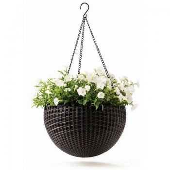 Hanging Sphere Planter (коричневый)