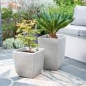 Square Costwold Planter 32 cm (известковый серый) SAP 239266