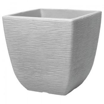 Square Costwold Planter 38 cm (известковый серый) SAP 239268