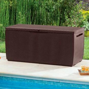 Rattan Storage Box Capri 302L (коричневый)