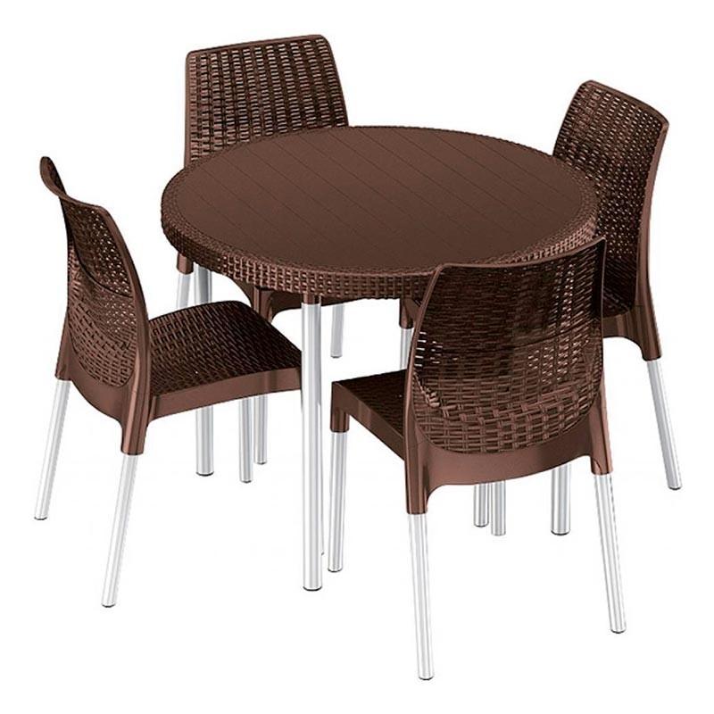 Jersey Set (коричневый)