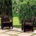 Tarifa 2 Chairs (коричневый)