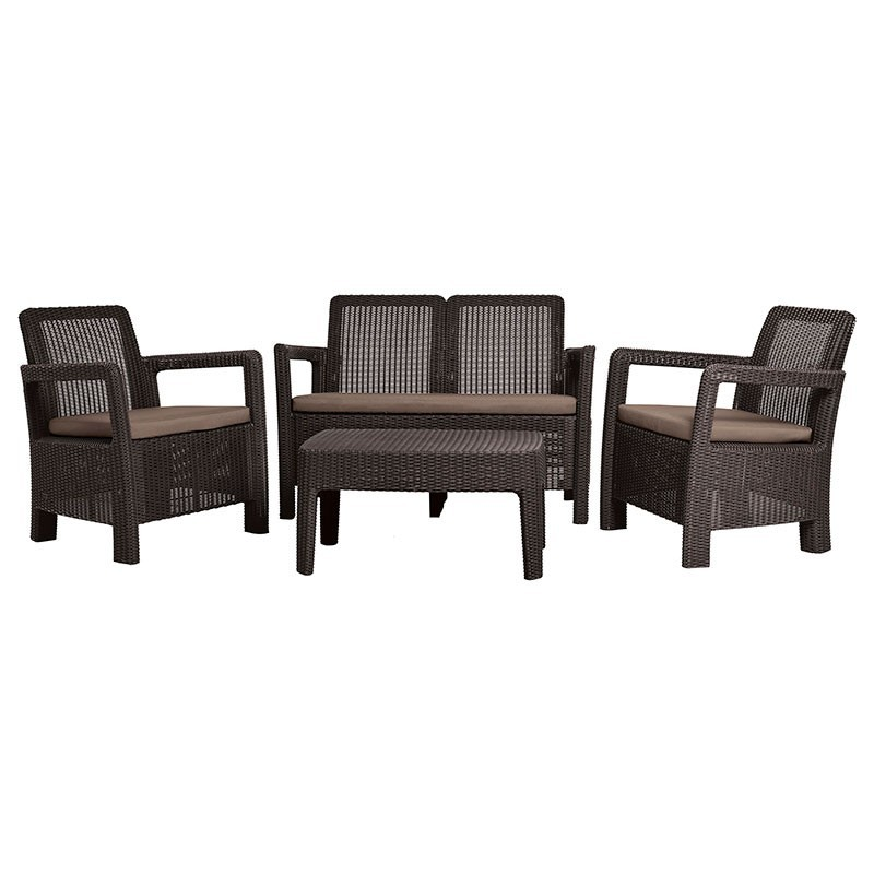 Tarifa Lounge Set (коричневый)