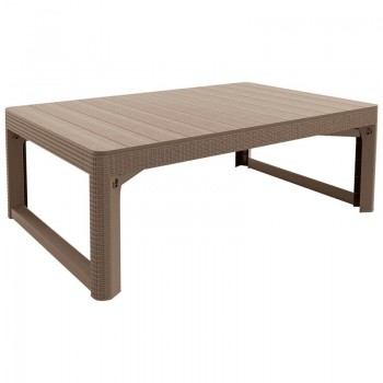 Lyon Table Rattan (капучино)