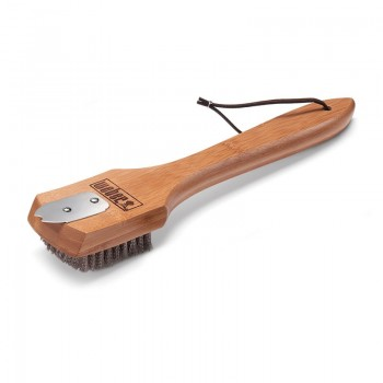 "Weber Grill Brush 12"" Bamboo"