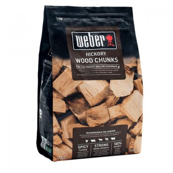 Weber Hickory Wood Chunks